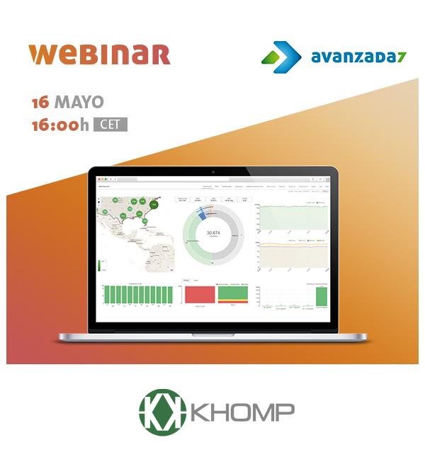Imagen: Webinar Khomp: Business Intelligence with KHOMP Insight! | Thursday 16 May