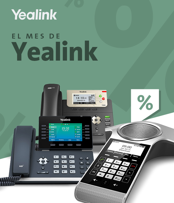 Imagen: Yealink Promotions: T53W, T54W, T23G and CP930W