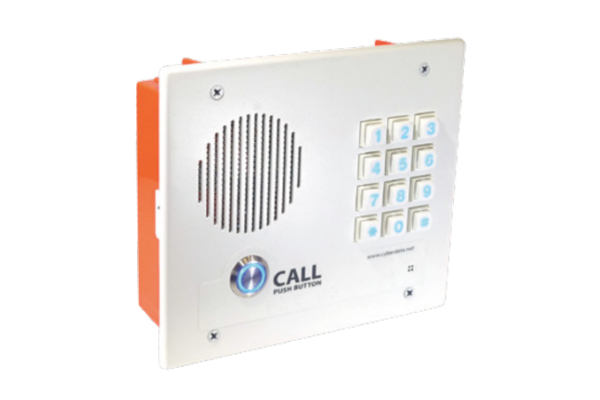 Intercom Cyberdata VoIP Intercom with keyboard and recessed mounting already available in Avanzada 7