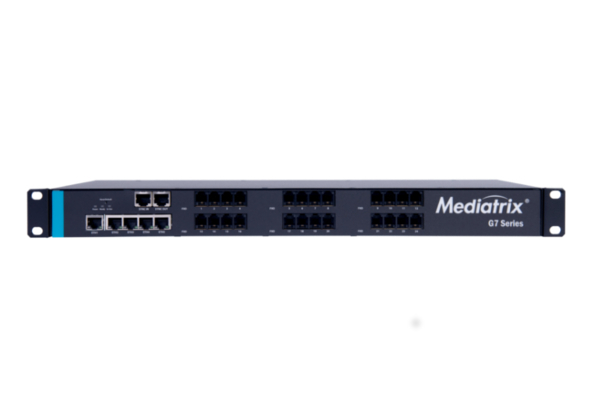 Mediatrix G7 analogue gateway with 24 FXO ports already available in the online store of Avanzada 7