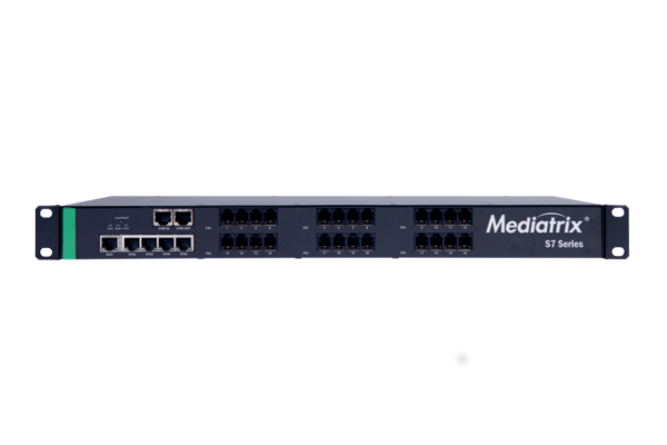 Mediatrix S7 Gateway with 24 FXS ports and 5 Gigabit ports now available in the Avanzada 7 online store