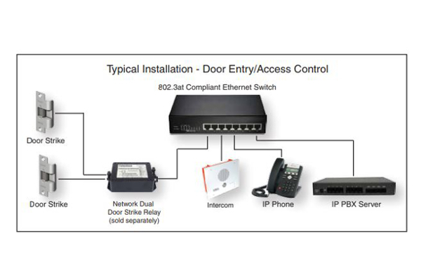 Indoor intercom Cyberdata 011272 compatible with SIP and Full-Dúplx already available in the online shop of Avanzada 7