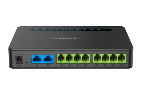 Grandstream ATA HT818 Gateway with HD Broadband Audio Quality and 8 FXS ports already available in Avanzada 7