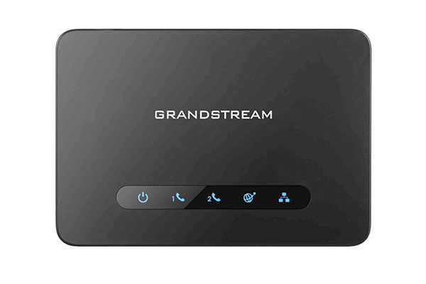 Gateway Grandstream ATA HT812 with high performance NAT router