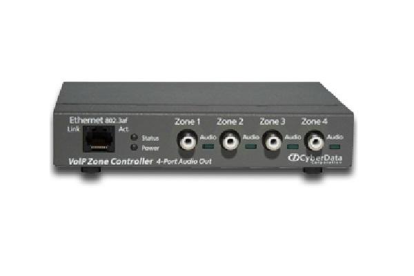 Imagen 3: Cyberdata VoIP zone controller 4 puertos V3