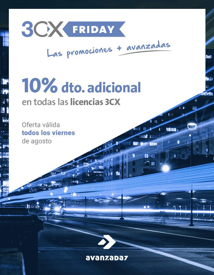 Imagen: 3CX Friday en Avanzada 7...