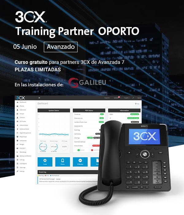 Imagen: 3CX Training Partner Avanzado Oporto | 5 Junio