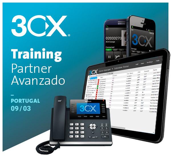 Imagen: 3CX  Training Partner - 9 de MARZO en Portugal