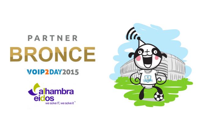 Alhambra-Eidos patrocina VoIP2DAY 2015