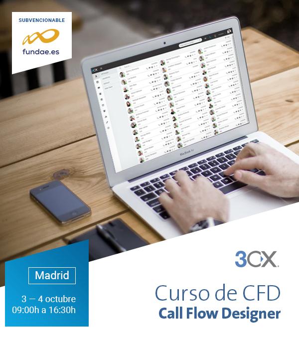 Imagen: Curso CFD para 3CX | 03 - 04 octubre en MADRID