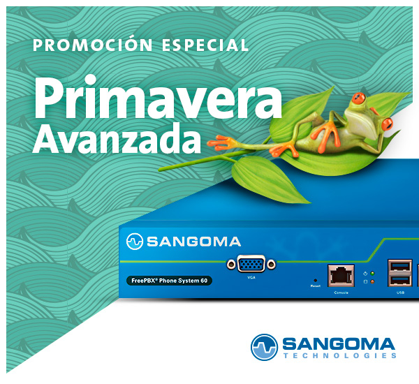 Imagen: Promoción Primavera - Sangoma