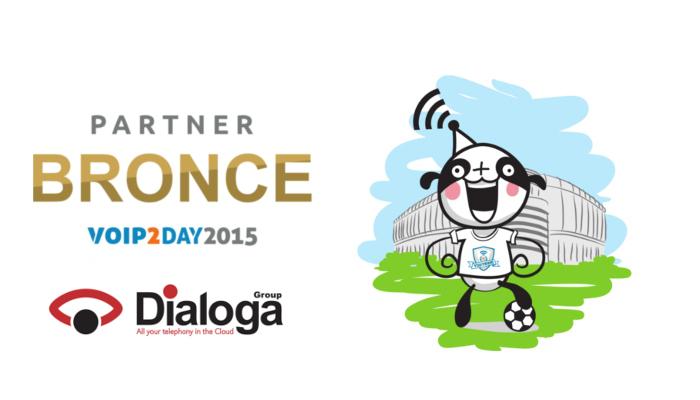 Imagen: Dialoga Group se une al equipo de patrocinadores de VoIP2DAY 2015 en categoría BRONCE