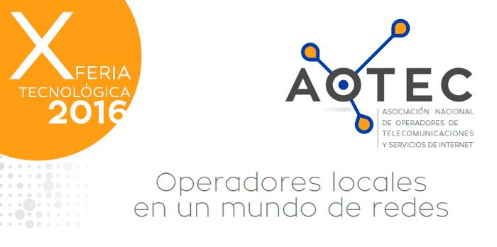 Imagen: ¡Ven a visitarnos a la X Feria Tecnológica - AOTEC!