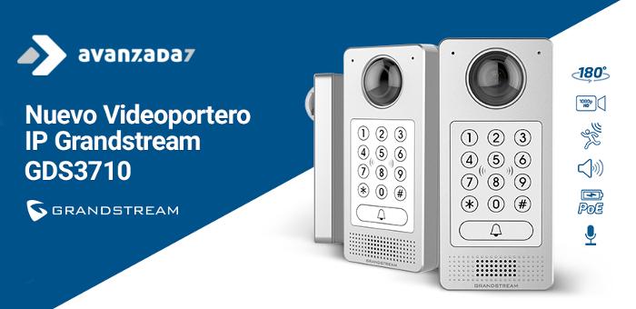 Imagen: Descubre el nuevo videoportero IP de Grandstream: GDS3710