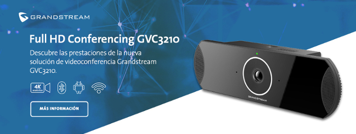 Imagen: Nuevo GVC3210: disfruta de videoconferencia de alta definición de Grandstream