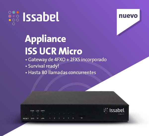 Imagen: Te presentamos el nuevo Appliance de Issabel ISS UCR Micro ¡Descubre todas sus funcionalidades!