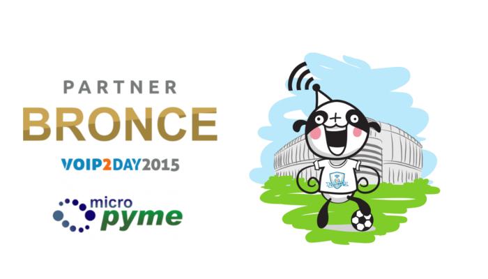Micropyme se une al equipo VoIP2DAY 2015 como patrocinador BRONCE