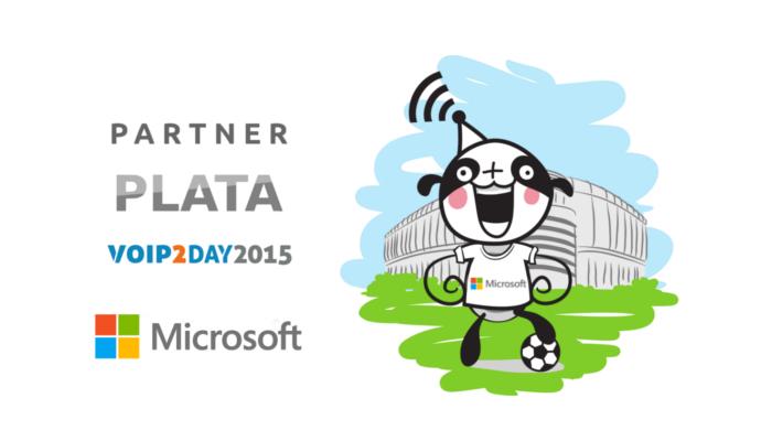 Imagen: Microsoft ¡patrocinador PLATA en VoIP2DAY 2015!