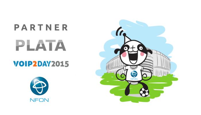 Imagen: NFON AG se une al equipo de sponsor de VoIP2DAY 2015 como sponsor PLATA