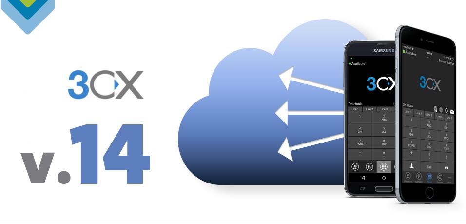 Imagen: Nueva versión 14 de 3CX