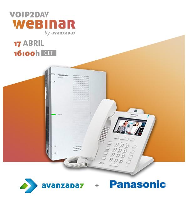 Imagen: VoIP2DAY Webinar: Panasonic KX-HTS32   17 abril a las 16:00h