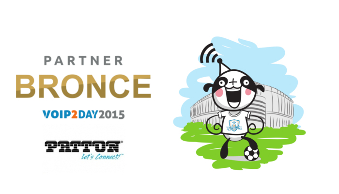 Imagen: Patton acude un año más a VoIP2DAY 2015 como sponsor BRONCE