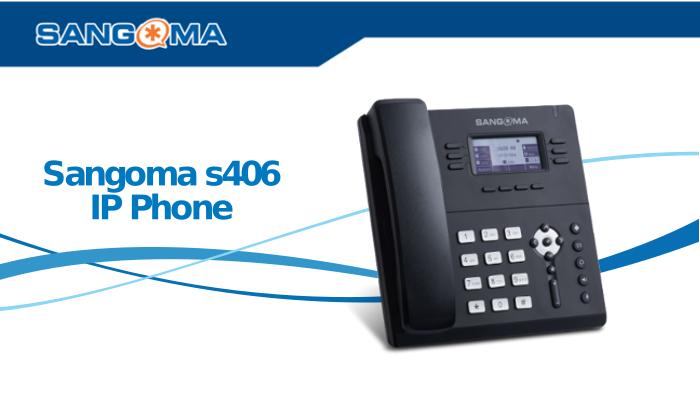 Imagen: Conoce las funcionalidades del Sangoma S406