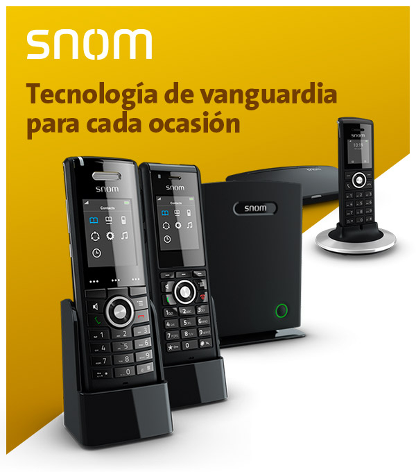 Imagen: Snom DECT: Freedom of movement!