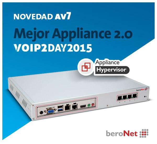 Imagen: Os presentamos...el nuevo Appliance beroNet BNTA 2.0