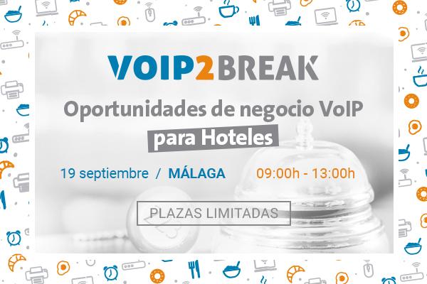 Imagen: VoIP2BREAK | Miércoles 19 Septiembre MÁLAGA