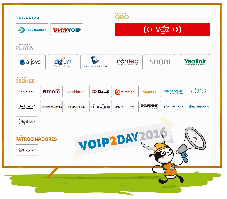 Imagen: ¿Qué empresas nos acompañarán en VoIP2DAY 2016?