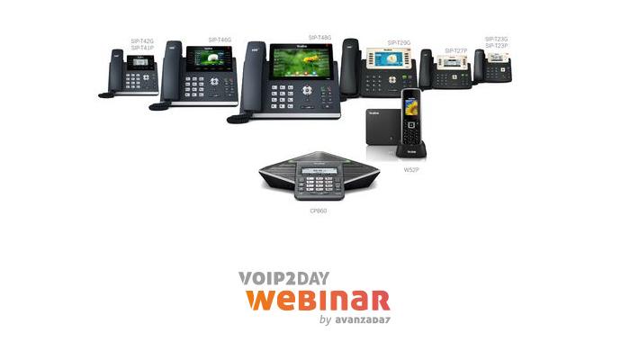 Imagen: VoIP2DayWebinar - Yealink nos presenta su portfolio de productos