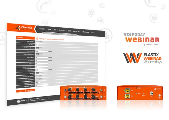 VoIP2DAY Webinar: Elastix EGW200 - Avanzada 7