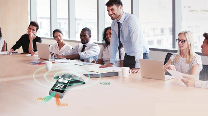 Imagen: Yealink CP930W: Descubre su terminal de conferencia inalámbrico para empresas