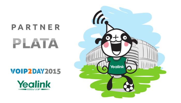 Imagen: Yealink, patrocinador Plata de VoIP2DAY 15