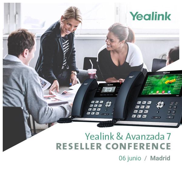 Imagen: Yealink Reseller Conference | Martes 06 Junio - MADRID