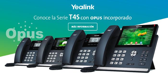 Imagen: Lo nuevo de Yealink con OPUS incorporado...