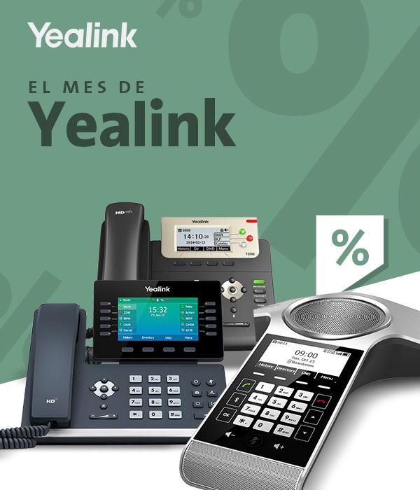 Imagen: Promociones Yealink: T53W, T54W, T23G y CP930W