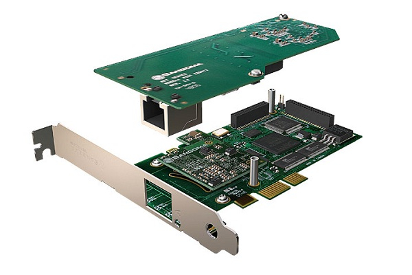 Imagen 1: Tarjeta Sangoma A101DE (1E1 PCI Express + Echo Cancel)