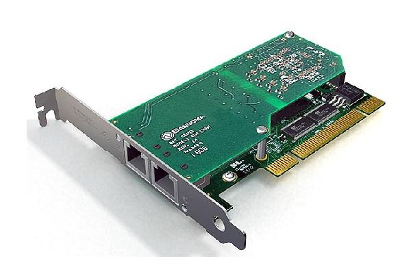 Imagen 1: Tarjeta Sangoma A102D (2E1 PCI Echo Cancel)