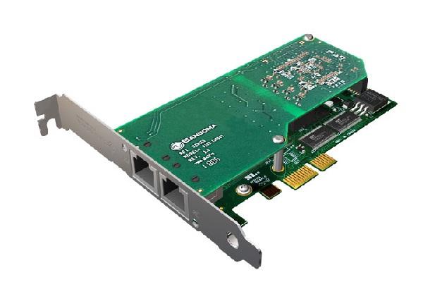 Imagen 1: Tarjeta Sangoma A102DE (2E1 PCI Express Echo Cancel)