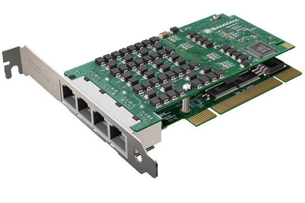 Imagen 1: Tarjeta Sangoma A108 (8E1 PCI)