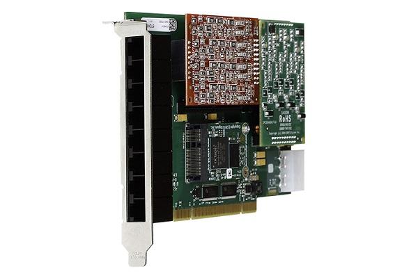 Tarjeta Digium A8A analogica con PCI bus