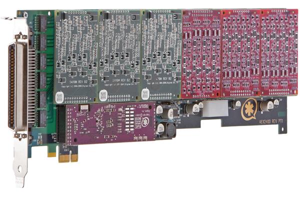 Tarjeta Digium AEX2400P con puertos FXO y FXS