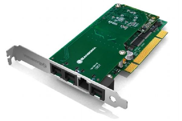 Imagen 1: Tarjeta Sangoma B600D 4FXO-1FXS+EC(no modular)