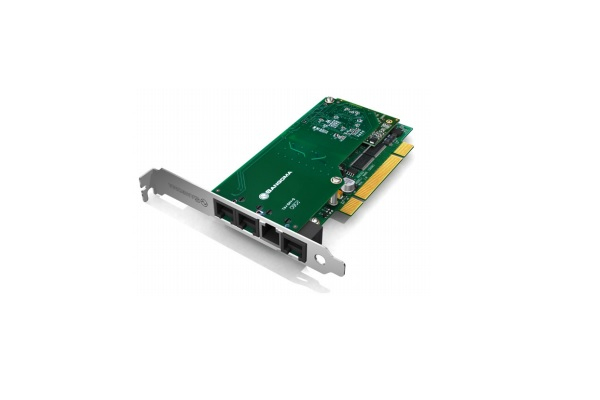 Imagen 1: Tarjeta Sangoma B601DE (1 E1+4 FXO+1 FXS:PCIe+E.C)