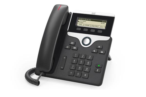 Teléfono IP de Cisco 7811 con 1 línea ideal para empresas que quieren cambiar a un sistema de telefonía IP ya disponible en Avanzada 7