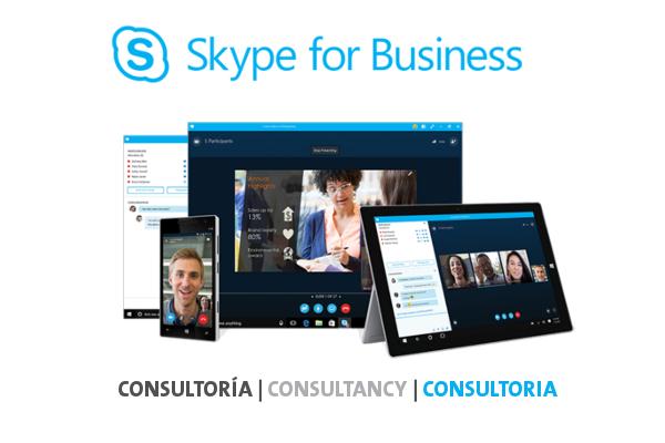 Imagen 1: Servicio de Consultoría sobre Skype for Business