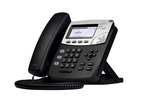 Imagen 1: Teléfono IP Digium D40 (2 líneas, PoE)