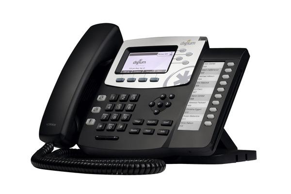 Telefono VoIP de Digium D50 con sonido HD y 4 lineas